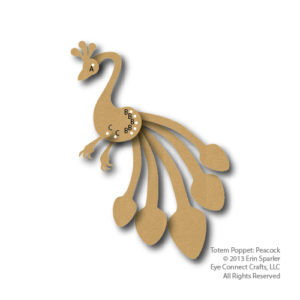 Totem Poppet Peacock