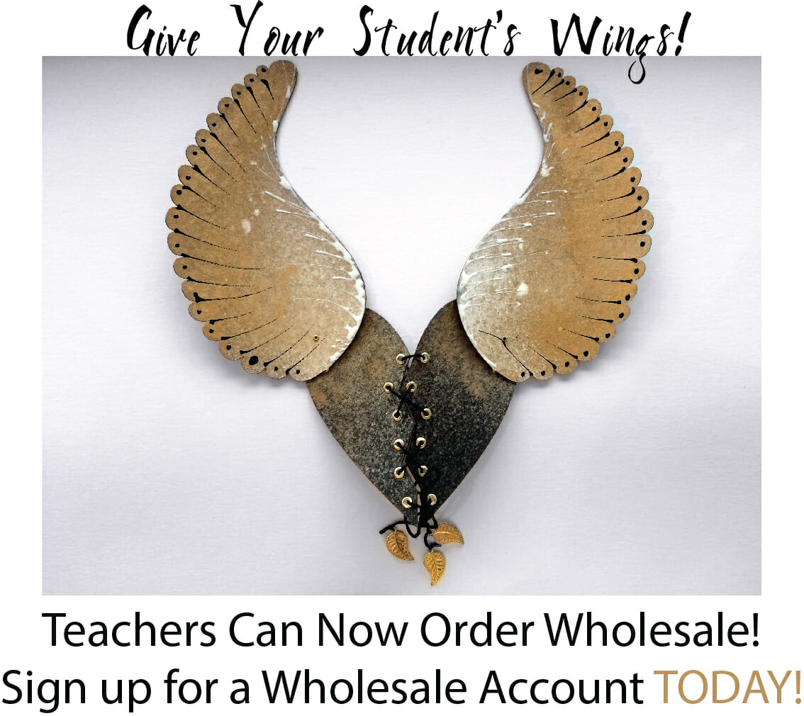 Teachers order craft supplies wholesale!