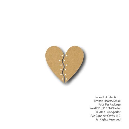 Broken Hearts Small