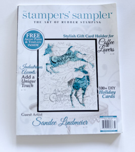 EyeConnect Crafts featured in Autumn issue of Stampers' Sampler 2014.