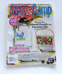EyeConnect Crafts Featured in Scrap and Stamp Magazine!